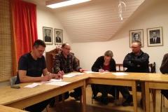 Underskrift av stiftelseurkunden 3