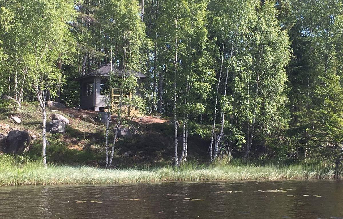 Paviljongen sedd från sjön